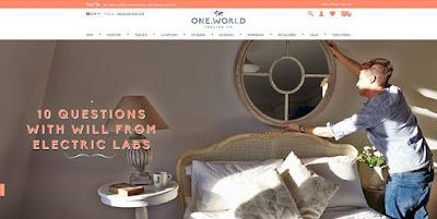 contoh web keren One World