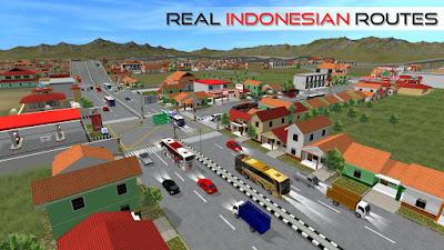 Tampilan Game Bus Simulator Indonesia