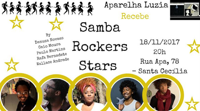 Caio Moura se apresenta no Samba Rockers Stars