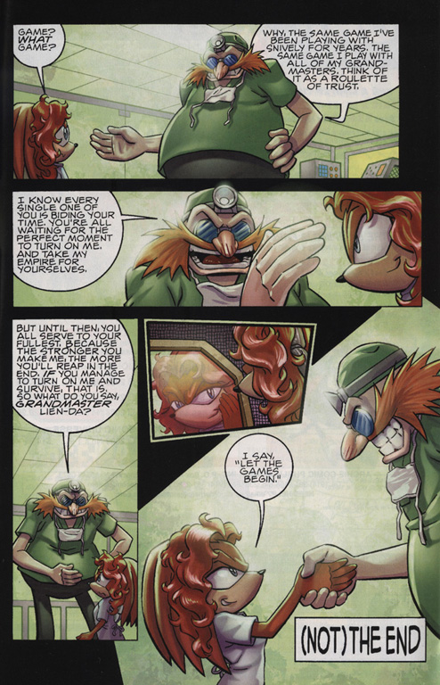 Read online Sonic The Hedgehog comic -  Issue #220 - 23
