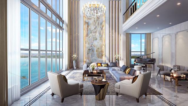 Phối cảnh Sky Villa Vinhomes Skylake Phạm Hùng