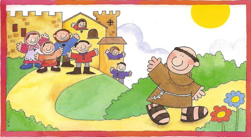 Famoso brodo di giuggiole: San Francesco d'Assisi GJ43