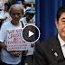 Watch: Nagprotesta ang Grupo ng 'Comfort Women' sa pag Bisita ni Japanese PM Shinzo Abe