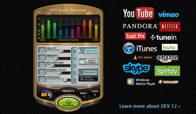تحميل برنامج dfx audio enhancer عملاق تضخيم وتحسين الصوت