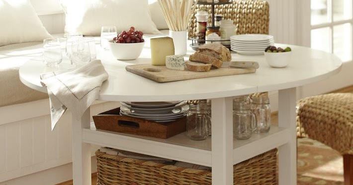 Somewhat Quirky: Pottery Barn Knock-off Table