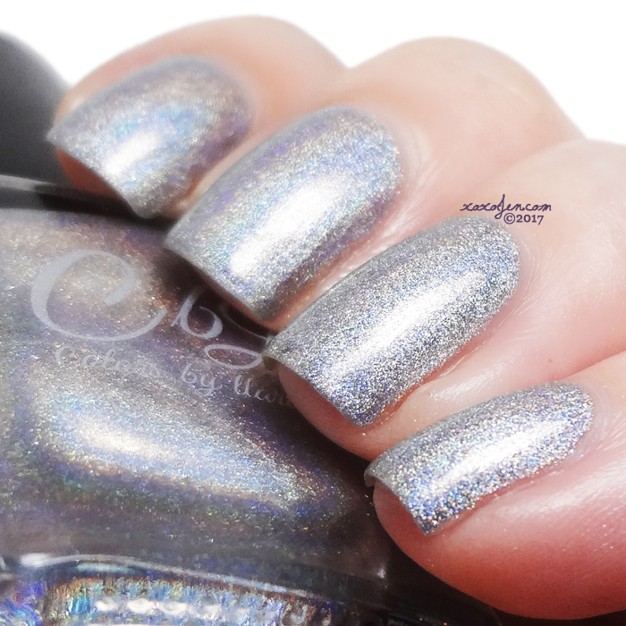 xoxoJen's swatches of CBL - Silver Bullet