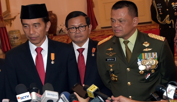 Presiden Tegaskan Tidak Ada Pergantian Panglima TNI