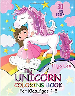 My Unicorn Coloring Book (Author Interview)