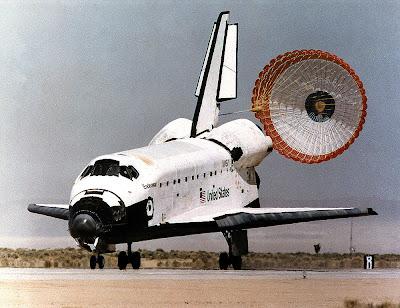 space shuttle orbiter landing speed - photo #48