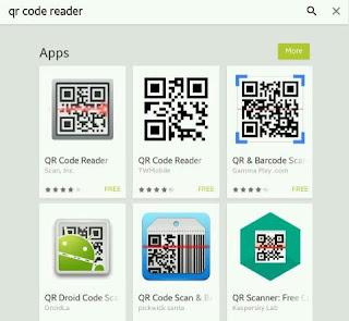 membaca qr code