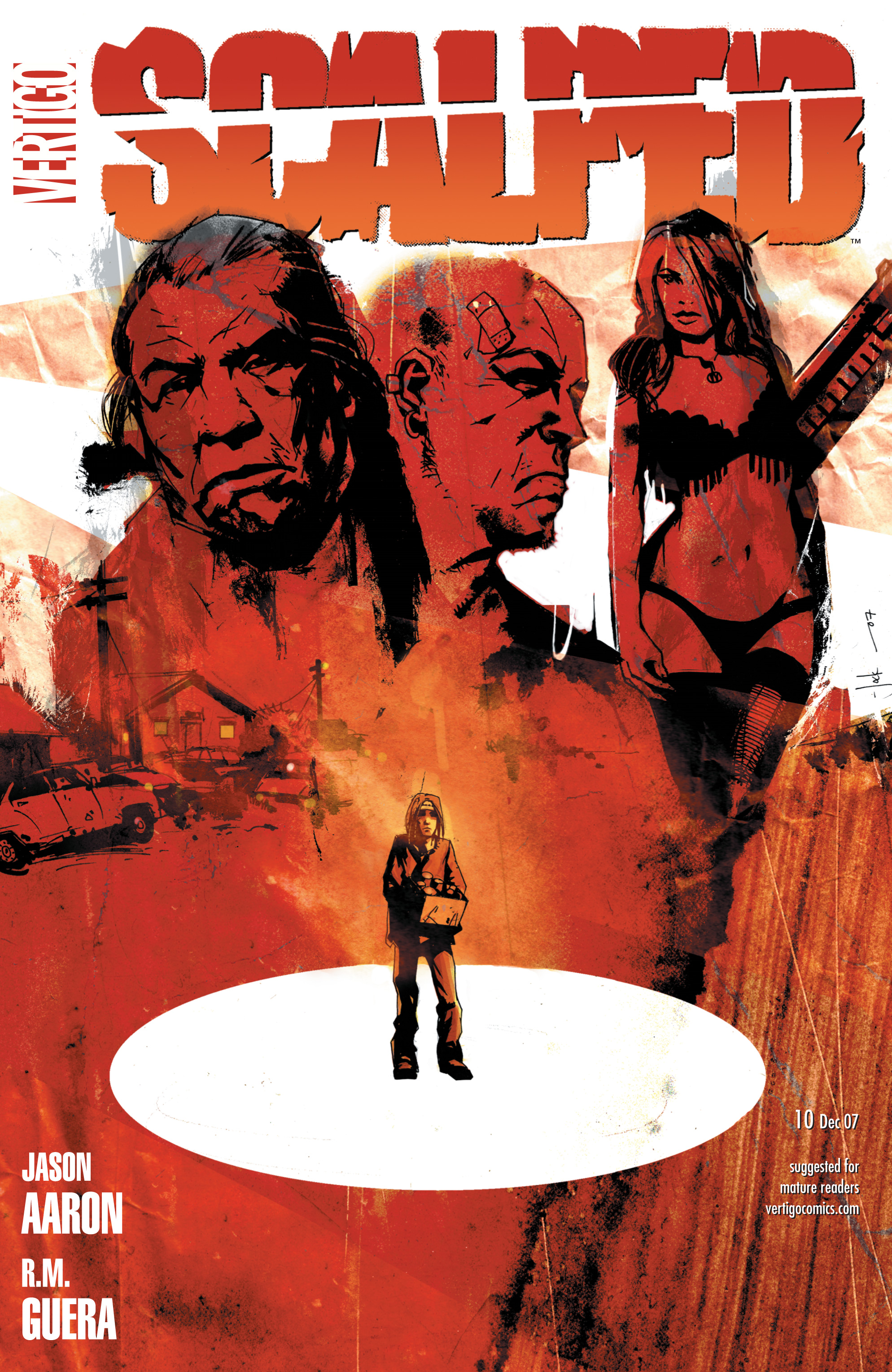 Scalped issue 10 - Page 1
