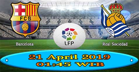 Prediksi Bola855 Barcelona vs Real Sociedad 21 April 2019