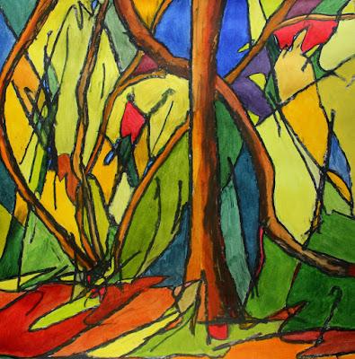 martin hoogeboom, painting, schilderij, kunst, art, Laren