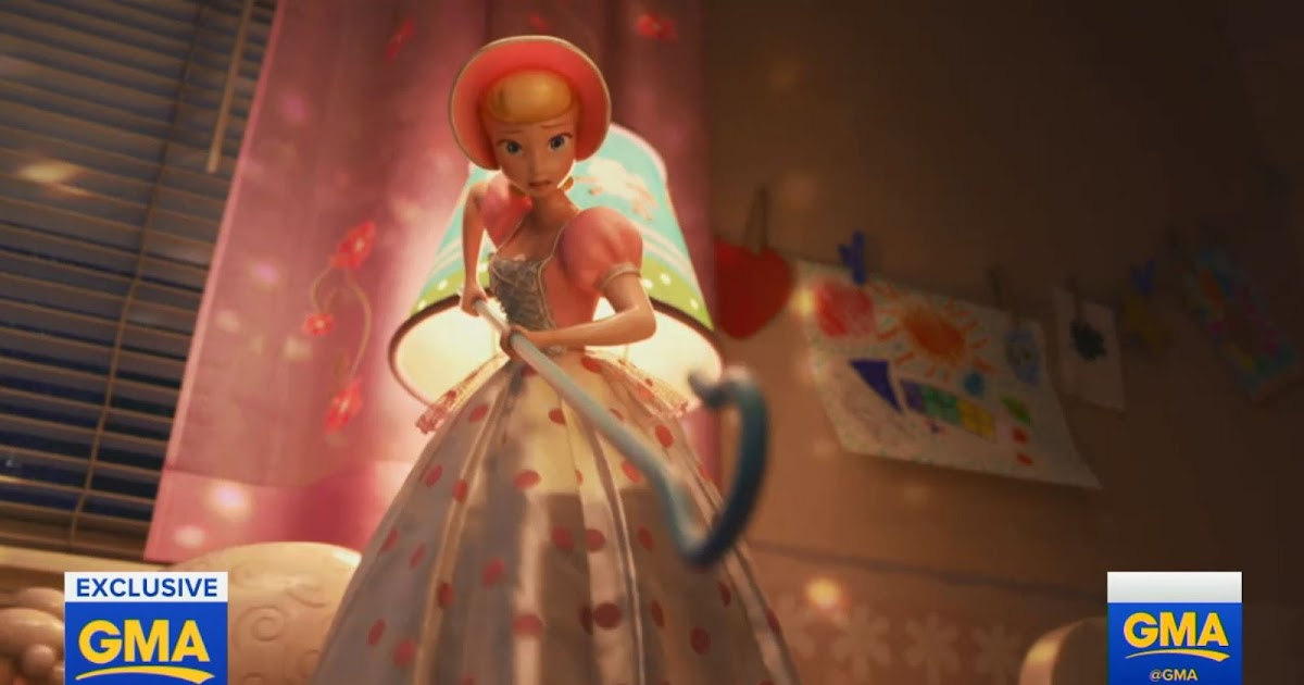 Bo Peep Rescues Rc In New Toy Story 4 Flash Back Clip