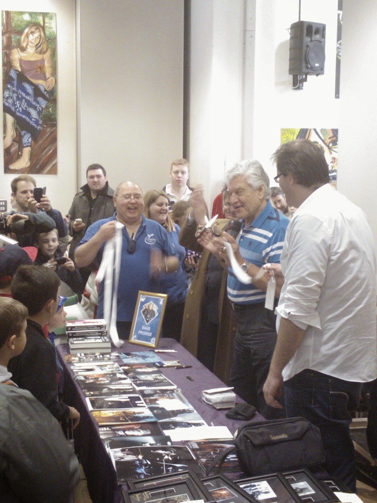 Dave Prowse [Darth Vader] @ Corsham Charity Sci-Fi fun day 2014
