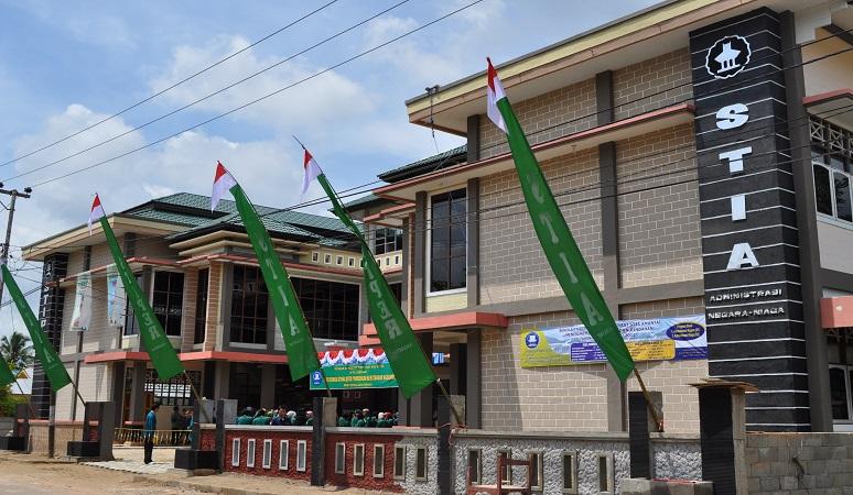 Gedung STIA Amuntai, Kabupaten Hulu Sungai Utara, Kalimantan Selatan.