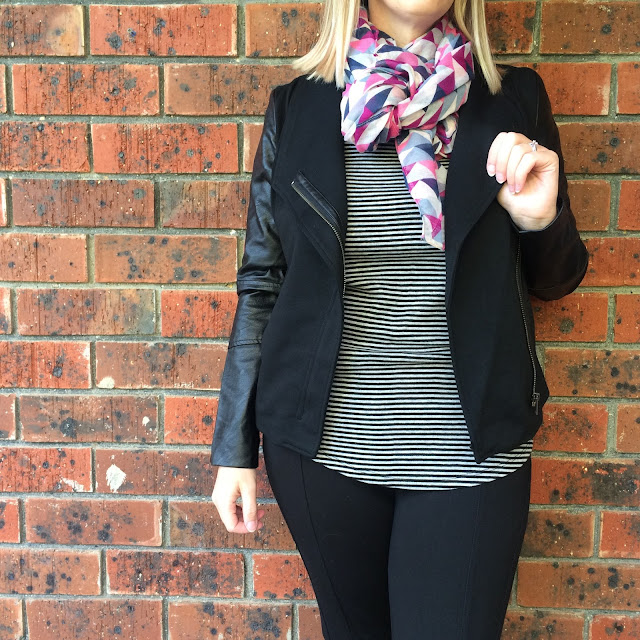 Katies Ponte PU jacket | Almost Posh