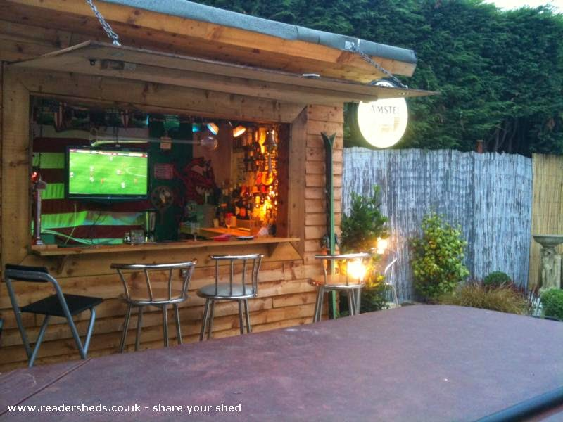 Backyard Trends The Pub Shed Or Man Cave