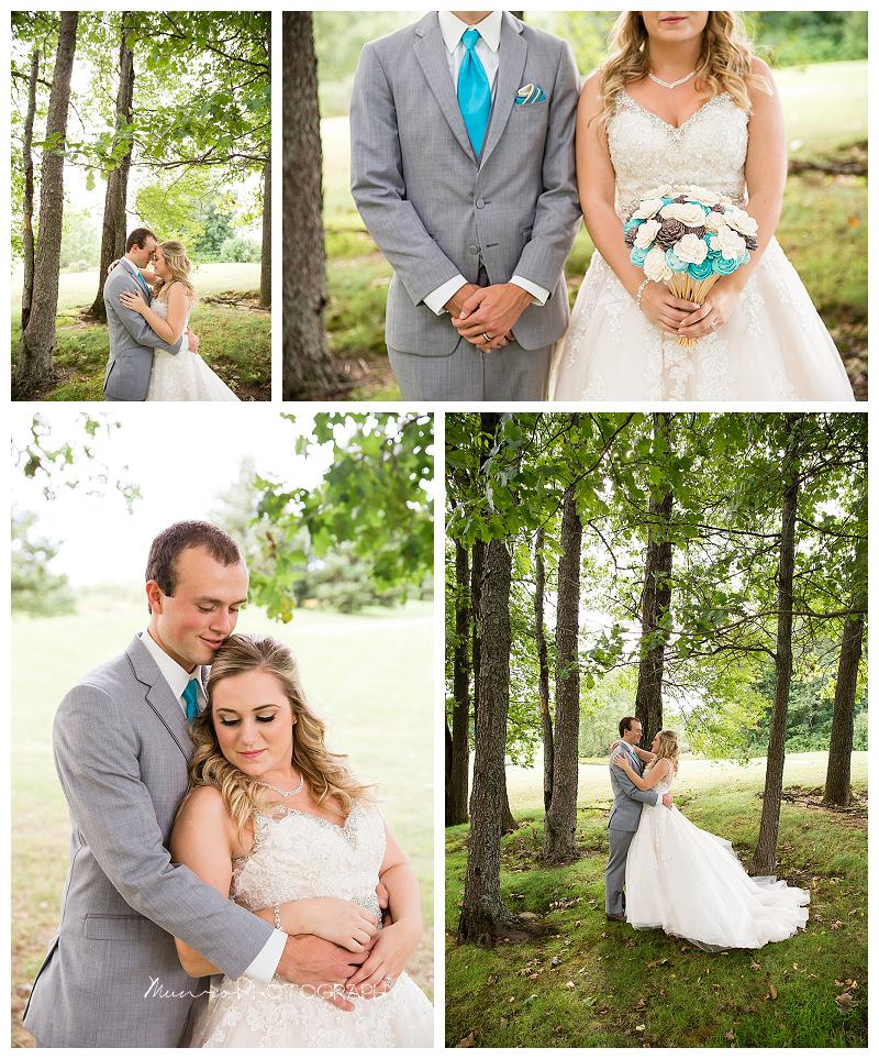 romantic wedding, bridal pictures, bride, groom, teal wedding, eco-flowers
