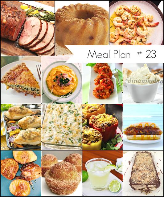 Ioanna's Notebook - Weekly Meal Plan #23 - Το μενού της εβδομάδας