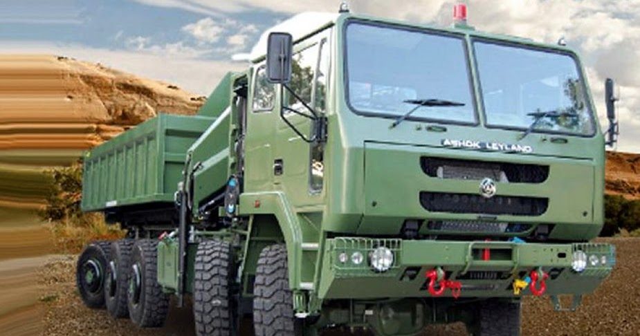 world new news: Indian Army to receive 81 Ashok Leyland 10x10 Super