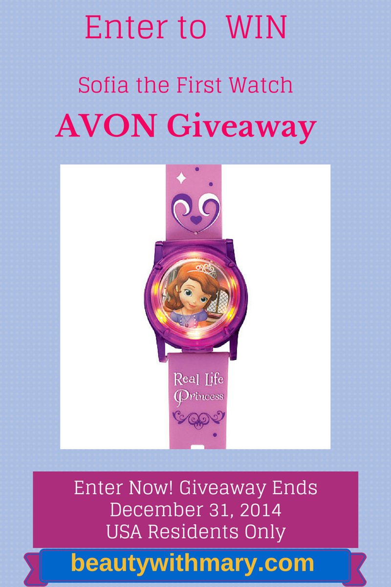 Avon Giveaway | Win Sofia the First Watch