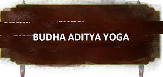 Budha Aditya yoga