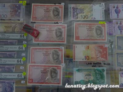 graded banknotes