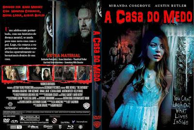 A Casa do Medo DVD Capa