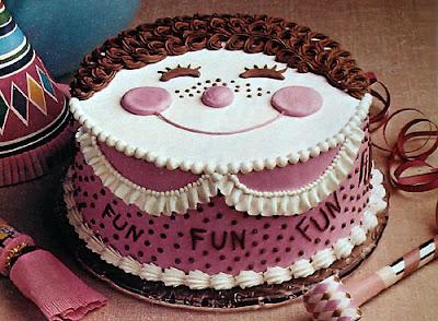 Gambar foto kue ulang tahun lucu