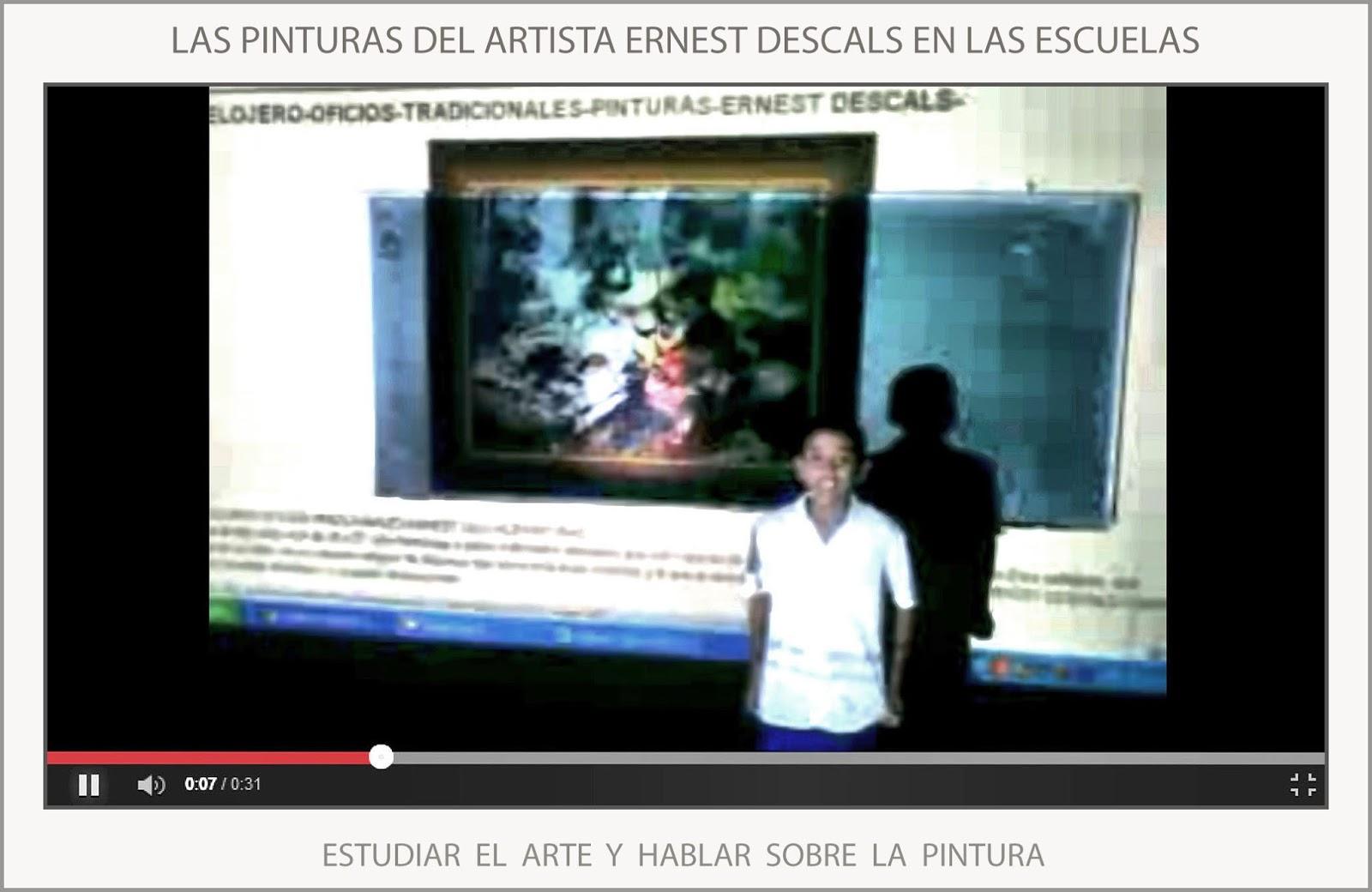 ernest descals artista pintor arte escuelas pintura On donde estudiar pintura