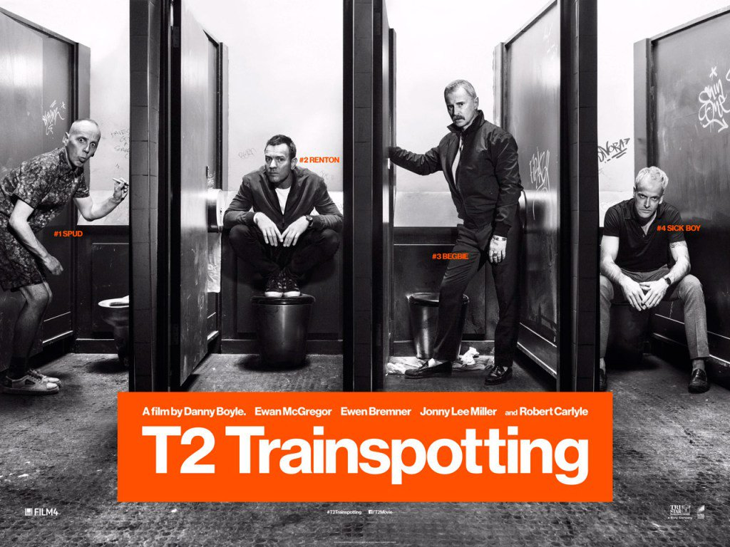 T2: TRAINSPOTTING 2 - POSTER PELICULA
