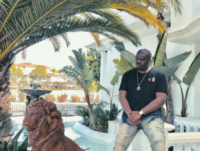 Donjazzy shows off Los Angeles home (Photos)
