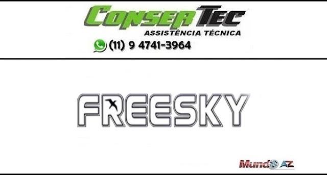 Nova atualização Freesky The Rock SKS 58W