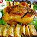 بالفيديو دجاج بالفرن لتبهري ضيوفك مرفوق ب terrine + صلصة بالكريمة مع اسرار طهي الدجاج