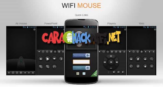 Bagaimana caranya menjadikan Android sebagai mouse menggunakan wifi