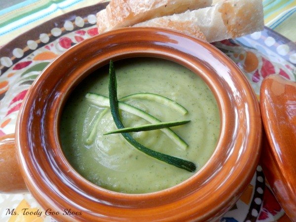 Silky Zucchini Soup --- Ms. Toody Goo Shoes