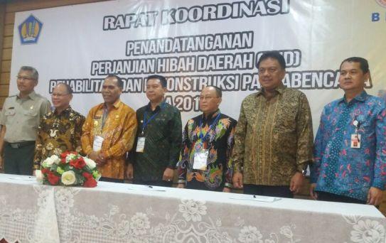 Bupati Kep. Selayar, Tandatangani MoU PHD Di Jakarta