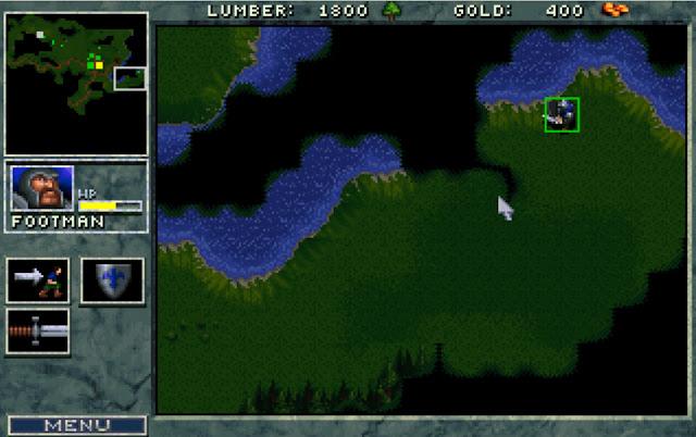 Warcraft 1 Exploring Screenshot