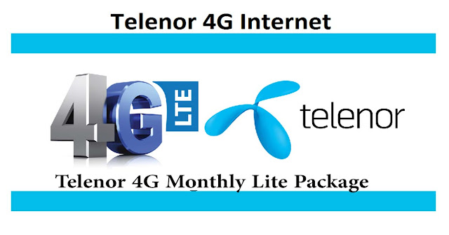 telenor internet package