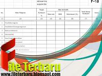 Download Format Taraf Serap Format Excel Untuk Jenjang SD SMP SMA Gratis