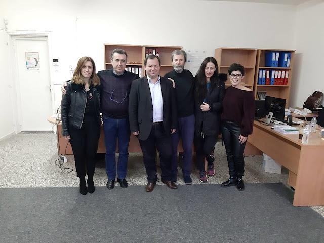 Επίσκεψη του Βουλευτή Θεσπρωτίας, κ. Βασίλης Γιόγιακας στο Κοινωνικό Παντοπωλείο και Κοινωνικό Φαρμακείο του Δήμου Ηγουμενίτσας