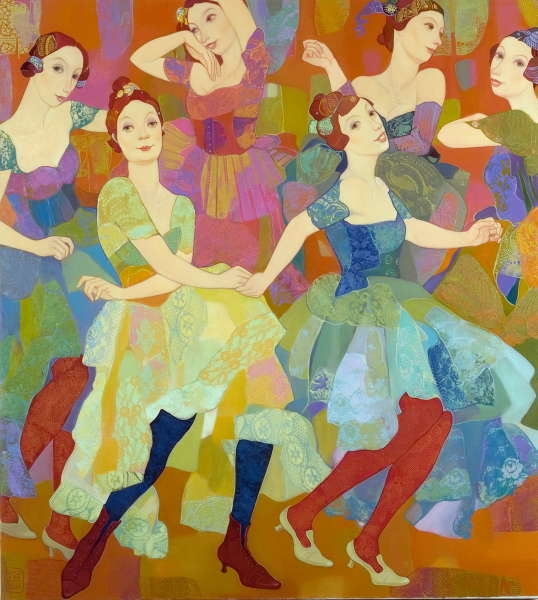 Zviad Gogolauri, The dancing