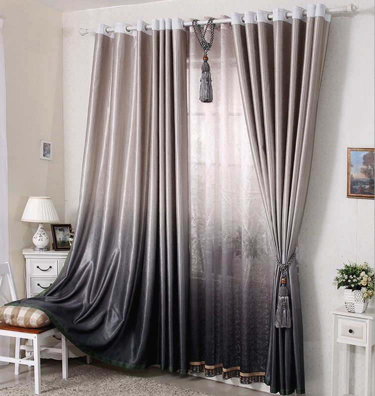 Elegant modern curtain designs and ideas for decorating home for Modern living room curtain designs pictures