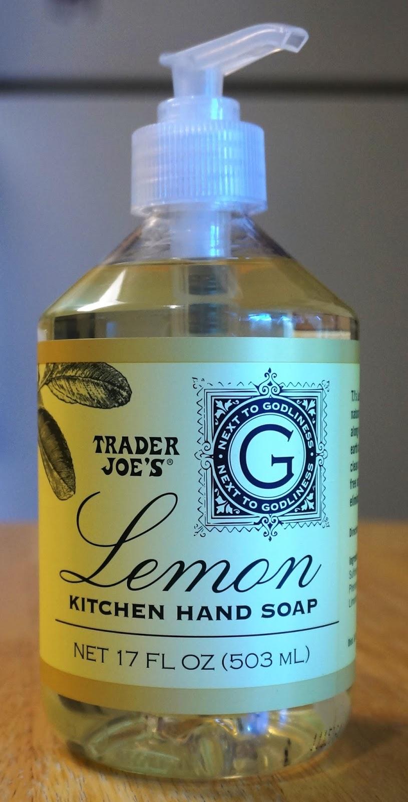 Exploring Trader Joe\'s: Trader Joe\'s Lemon Kitchen Hand Soap