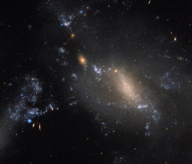 Interacting Galaxies NGC 3447