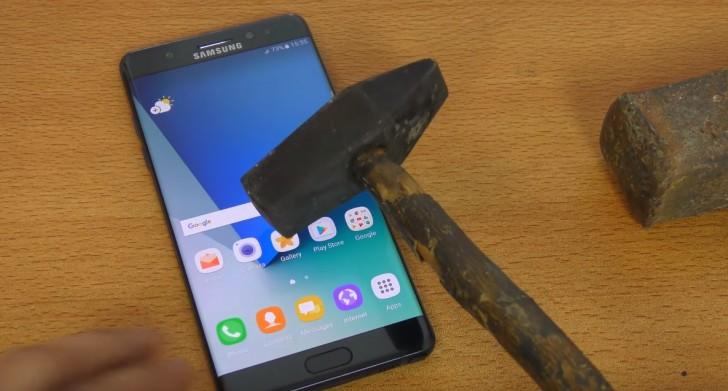 Galaxy Note 7 Tüm Drop Test Videoları