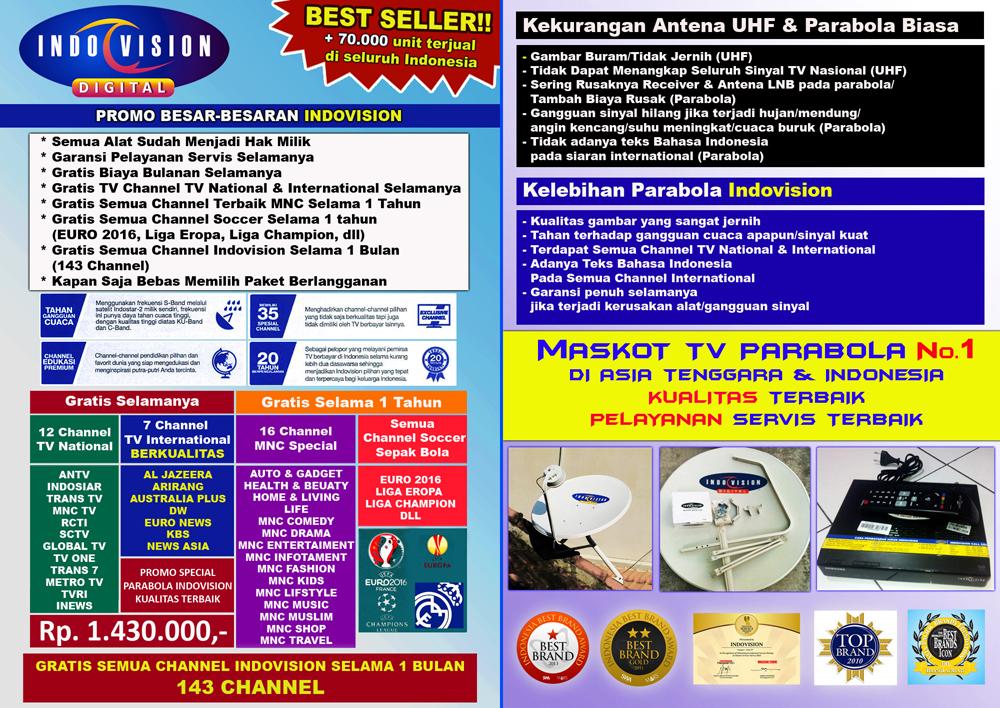 Indovision Official : Dapatkan Diskon Berlangganan INDOVISION ...