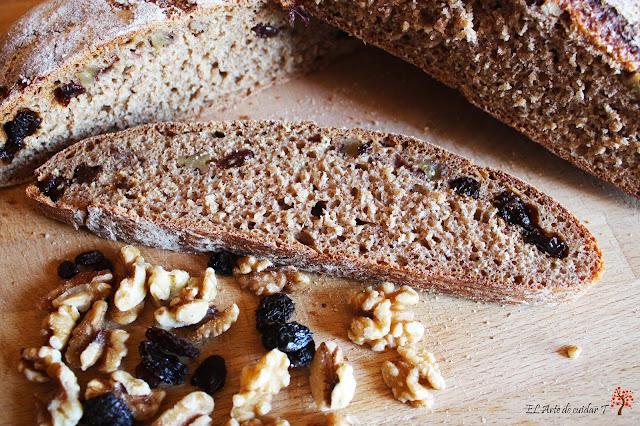 pan natural de espelta con masa madre