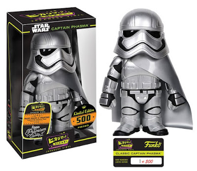 Star Wars: The Force Awakens Captain Phasma Classic Edition Hikari Sofubi Vinyl Figure by Funko